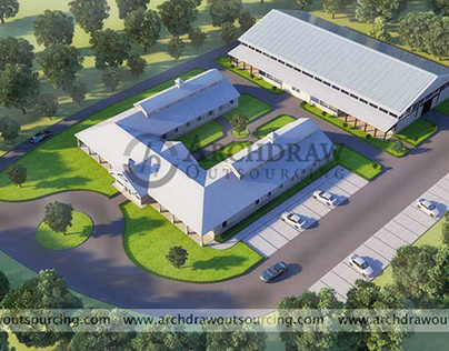 Architectural Visualization - 3D Rendering Project