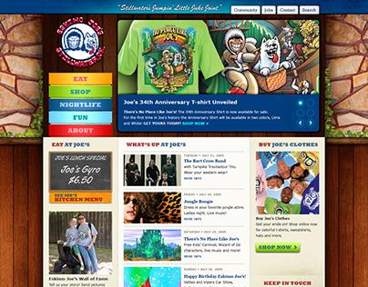 Eskimo Joe's Website