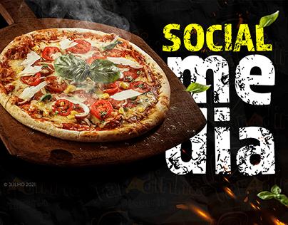 Pizza Social Media