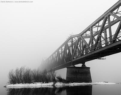 Winter on the Sava River