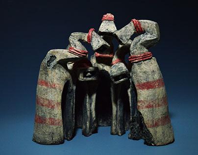 Common Denominator: A Series of Ceramic Sculptures