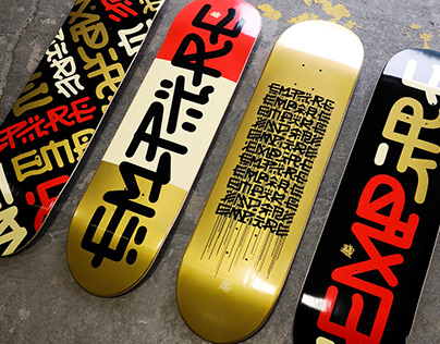 Louis Letters x Empire Skateboards