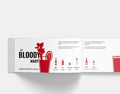BIG TOM Logo and Booklet