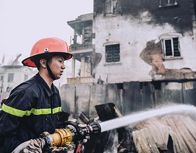 Báo cháy Unipos Phúc Thành