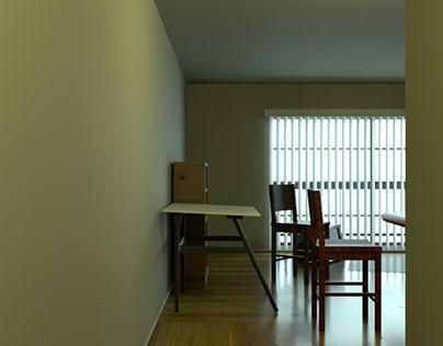 Apartment flythrough