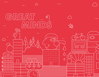 Great Minds Event campaign & brand