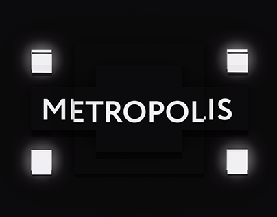 METROPOLIS projection mapping