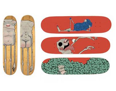 Gorp Skateboard Designs