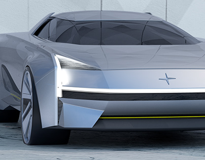 Polestar S Concept master thesis project