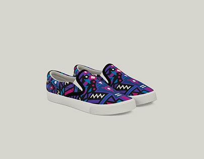 Bucketfeet Shoes / Cosmos / Spirit / Paisley