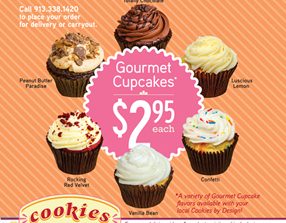 Cookies By Design Flyer