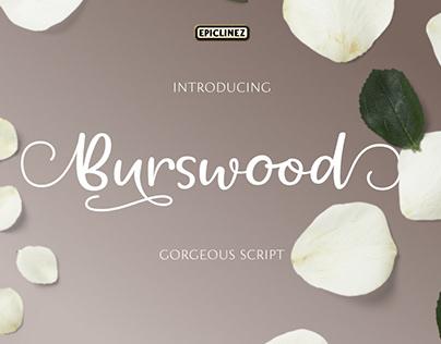 Burswood - Stylish Script