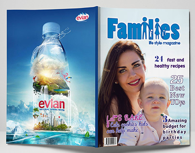 Magazine (Full project: logo- pages layout -con.-info )