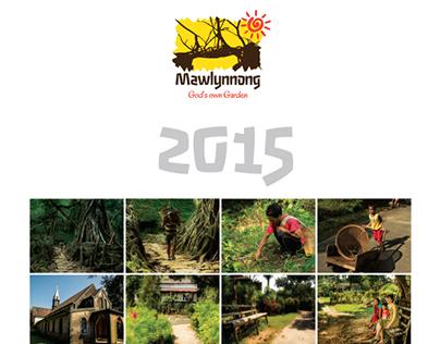 Mawlynnong 2015 Calendar