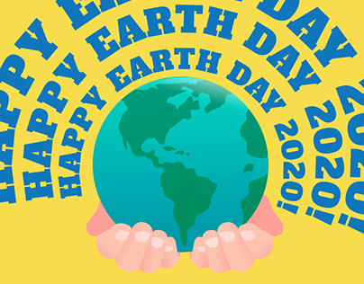 Happy Earth Day Graphic