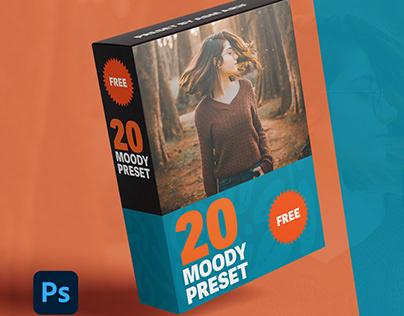 Moody Photoshop Ligtroom Preset