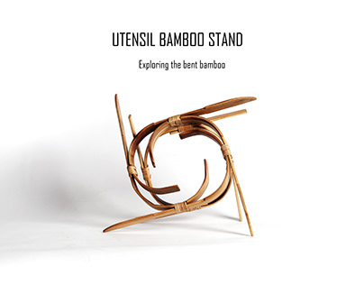 Bamboo Stand for Hot Utensils