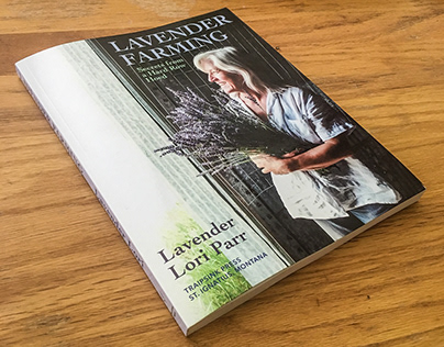 Lavender Farming, book and cover design