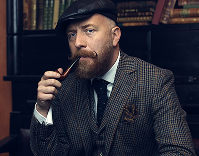 Peaky Blinders themed portrait shoot