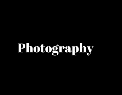 Samples of My Photography