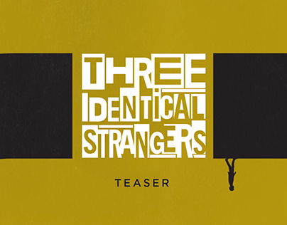 Three Identical Strangers - Teaser