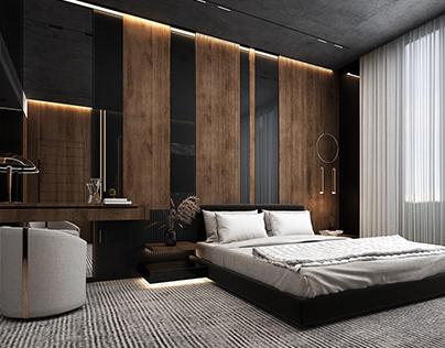 DARK MOOD bedroom