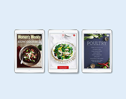 Women's Weekly iPad Cookbooks