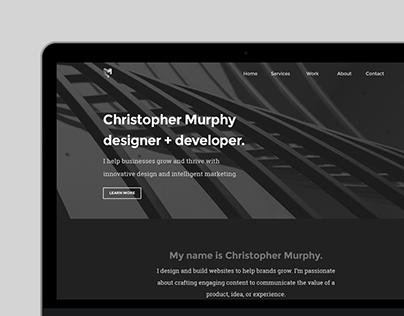 CM Design Portfolio Website