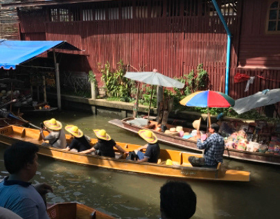 Traveling the Canals of Thailand