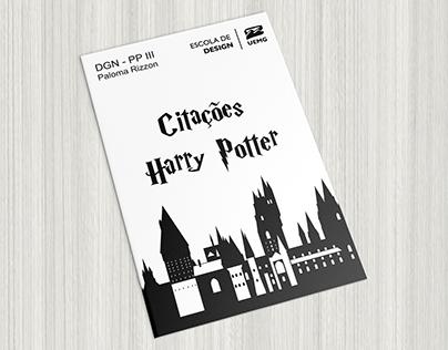 Citações - Harry Potter