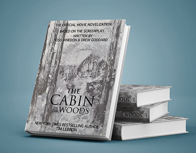 Design Layout: The Cabin in the Woods Book Cover