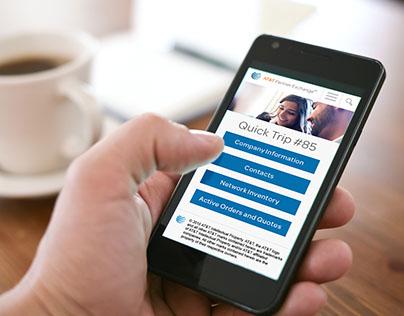 AT&T Partner Exchange Mobile App Design