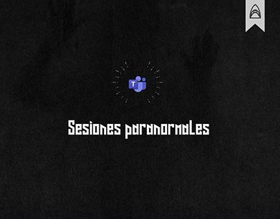 Microsoft Teams - Sesiones Paranormales