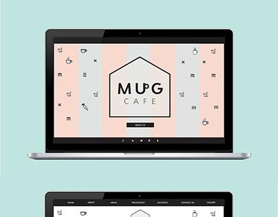 Mug Cafe - Website Design