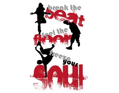 FREEZE YOUR SOUL T-Shirt Art & Copy Project