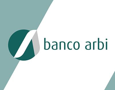 Banco Arbi - Branding