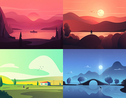 A SERIES OF ILLUSTRATIONS MADE FOR FOCUSLY