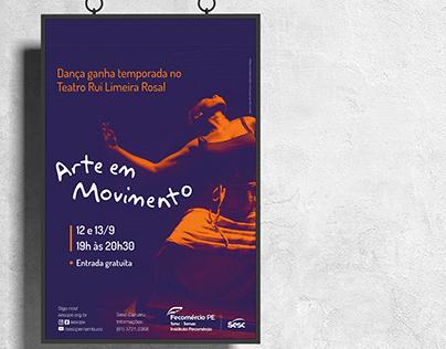Arte e Movimento 2019 | Sesc Pernambuco