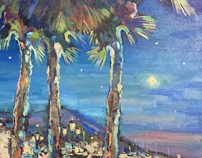 night in Yalta