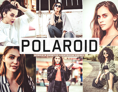 Free Polaroid Mobile & Desktop Lightroom Preset