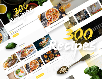 Food Recipes Website