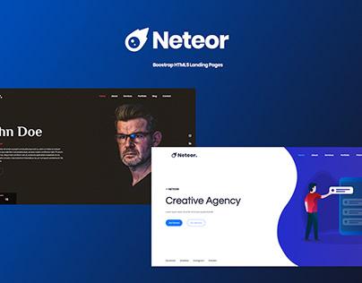 Neteor - Creative Multipurpose HTML5 Template