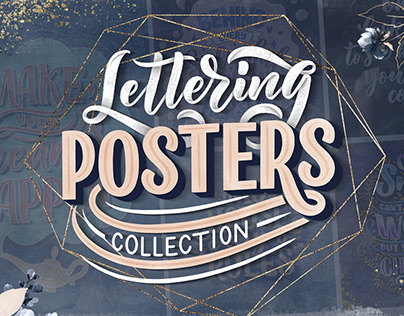 Lettering Posters Collection Vol. 1