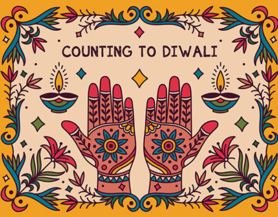 COUNTING TO DIWALI - STORY BOOK