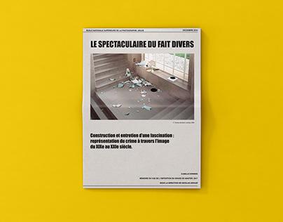 JOURNAL | Mémoire de recherche