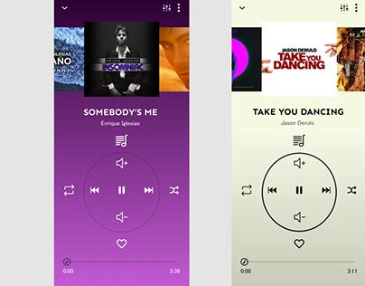 Music App: A new UI