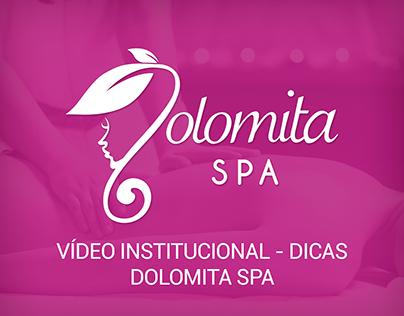 Vídeo Institucional - Dicas - Dolomita SPA