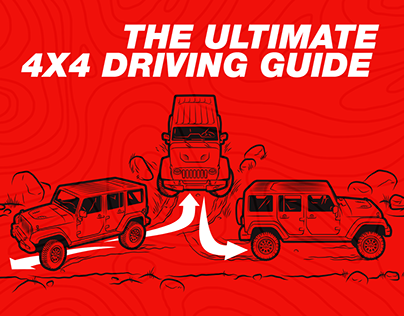 Illustrations for The Ultimate 4x4 Driving Guide