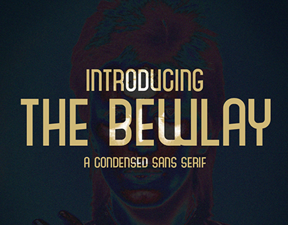 Free Font - The Bewlay