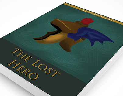 BOOK JACKET PROJECT: The Lost Hero by Rick Riordan.